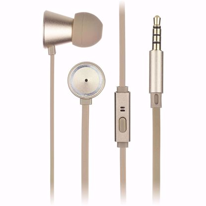 Picture of KitSound Kitsound Metallics In-Ear Headphones in Gold