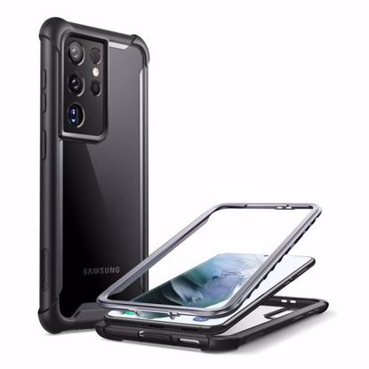 Picture of i-Blason i-Blason Ares Full Body Case with Screen Protector for Samsung Galaxy S21 Ultra in Black
