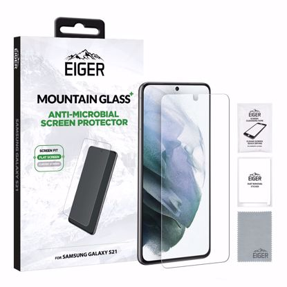 Picture of Eiger Eiger Mountain+ Glass Screen Protector for Samsung Galaxy S21